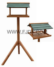 Outside Small Wooden Feeder Bird Cage