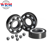 High speed hybrid ceramic bearings