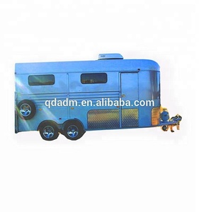 China Luxury Customized Semi 2/3 Horse Used Transport Trailers For Sale