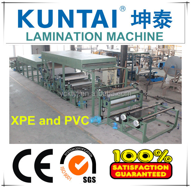 KT-XP-1800 Laminating Machine for PVC and XPE Automobile Interior Decoration