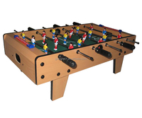 factory professional superior MDF soccer/foosball table for indoor