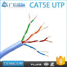 High speed 4 pairs 24 awg Patch Cord cat5e cable price per meter