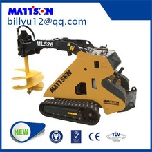 MATTSON ML525 Quick rubber track mini loader in China for landscaping tools equipment