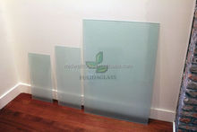 Produce 3-19mm High Quality Frosted Glass/Sandblasting/Acid Etched Glass for Shelves,Table Tops,Whiteboard,Decorative Glass