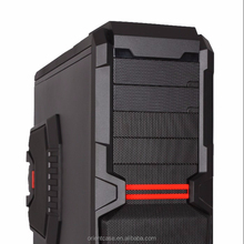 ATX Black Steel Computer Full Tower Gaming case LED Light