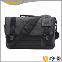 Laptop Bag Computer Men's Clutch Bag Shoulder Long Strip Bag Bike Vintage Military Shoulder Laptop Mens Leather Canvas Messenger