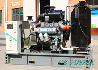 200kW generator set with free-maintainace battery