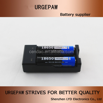 Factory price 3.7V 2600mah 18650 li ion battery with pcm and good packing 3.7V lithium ion recharge battery samll