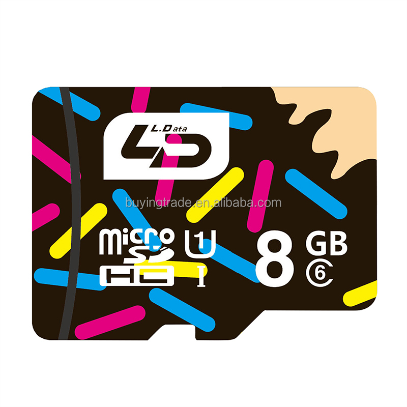 100% Original Official LD MicroSD 8GB/16GB/32GB/64GB/128GB Class10&Class 6 UHS-1Flash Memory Card for Smartphone
