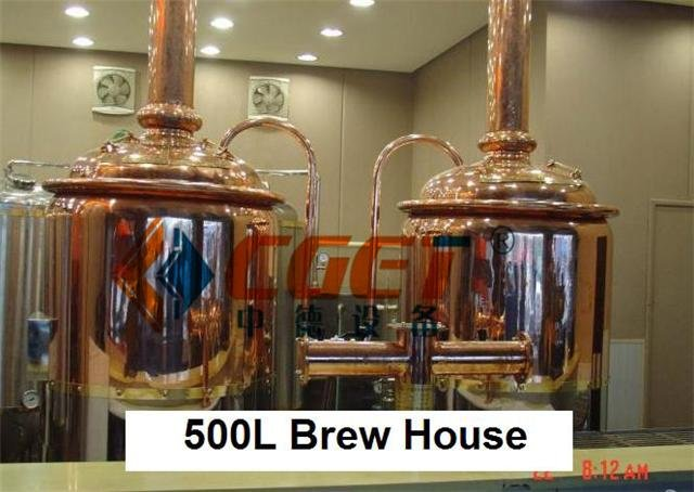 New condition and fermentation processing Hotel beer brewing equipment