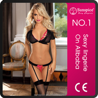 Sunspice Hot sales sexy lingerie manufacturer very very sexy underwear woman