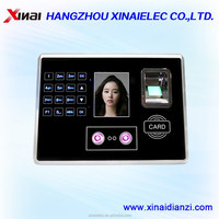 2015 hot sale face capture picture biometric time attendance machine RS485,USB,WIFI function