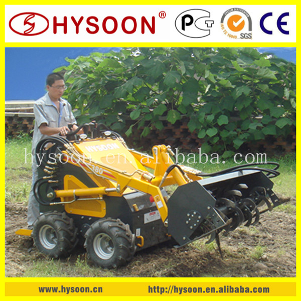 made in China mini tractor with cultivator