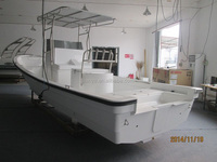 Liya small fiberglass speed boat commercial fishing boats 760cm cruise ship