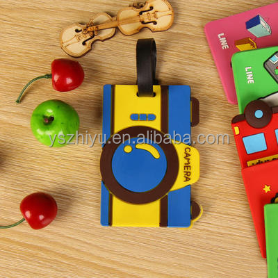wholesale custom cheap plastic luggage tag with fast production