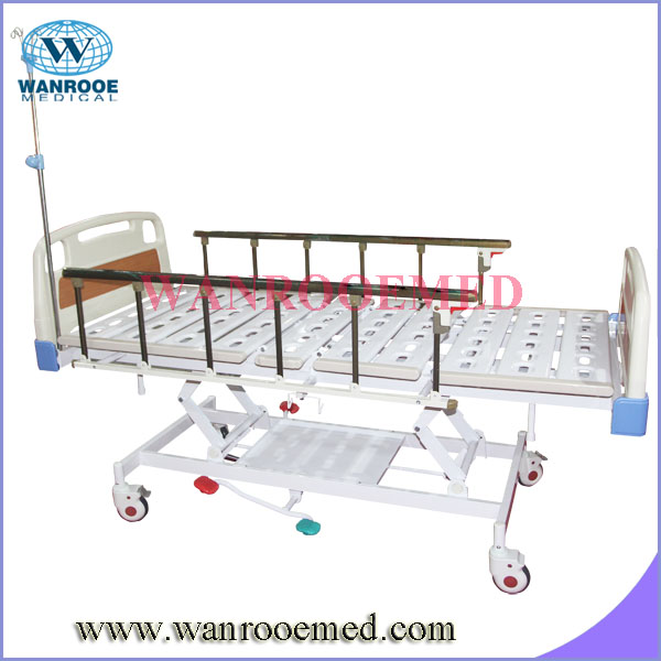 Convenient BAH300 Hydraulic Medical Appliances Hospital Bed