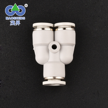 High Quality brass Plastic MPY 1/8 1/4 1/2 3/8 3/4 quick connect pneumatic hose fittings smc Pneumatic Tube Fittings