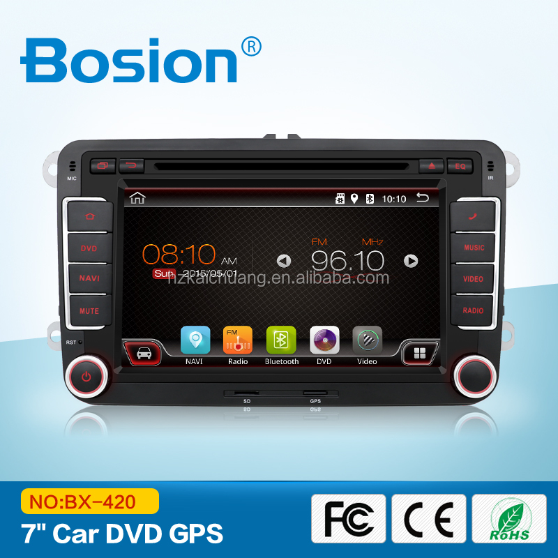Bosion Factory OEM CE Cerification VW jetta Sharan Transporter t5 car dvd gps navigation system Multimedia player with Wifi