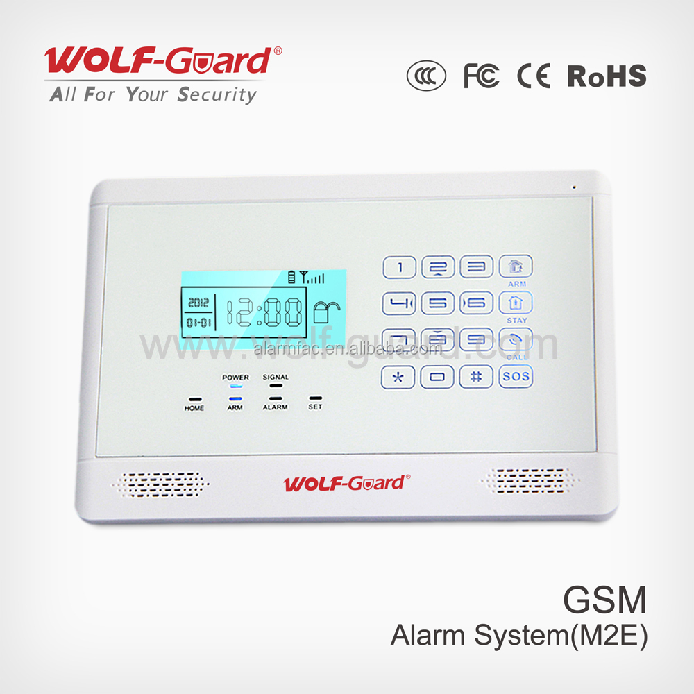 manufactory Home wireless alarm system new design with APP intelligent alarm