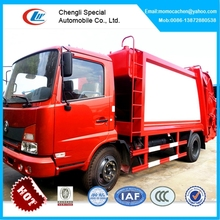 Dongfeng garbage compactor truck 10 tons compactor garbage truck garbage compression refuse collector