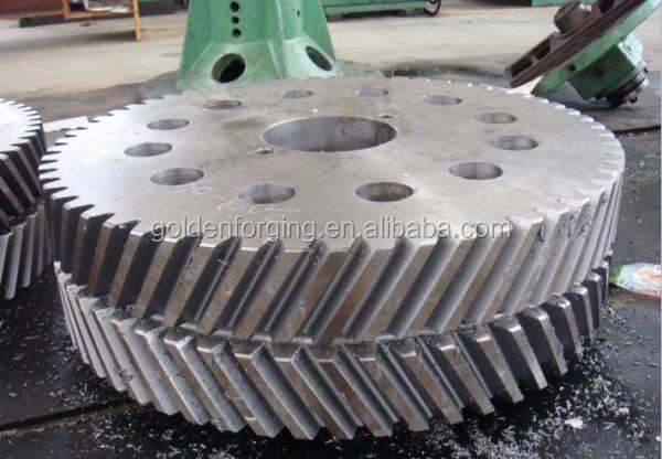 forged ck45 steel heavy disk for gear