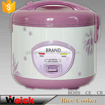 Button control Aluminium innor pot Reasonable price Deluxe Rice cooker