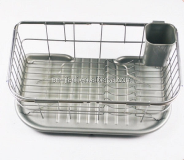 Super quality top sell extendable sink plastic dish drainer