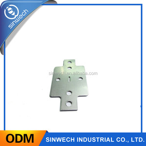 aluminum custom deep drawn metal stamping metal spare parts of car parts with holes