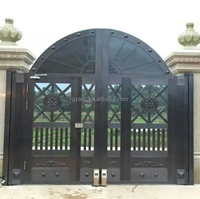Guangzhou arm type swing gate opener, automatic swing gate motor, automatic gate opening with backup battery