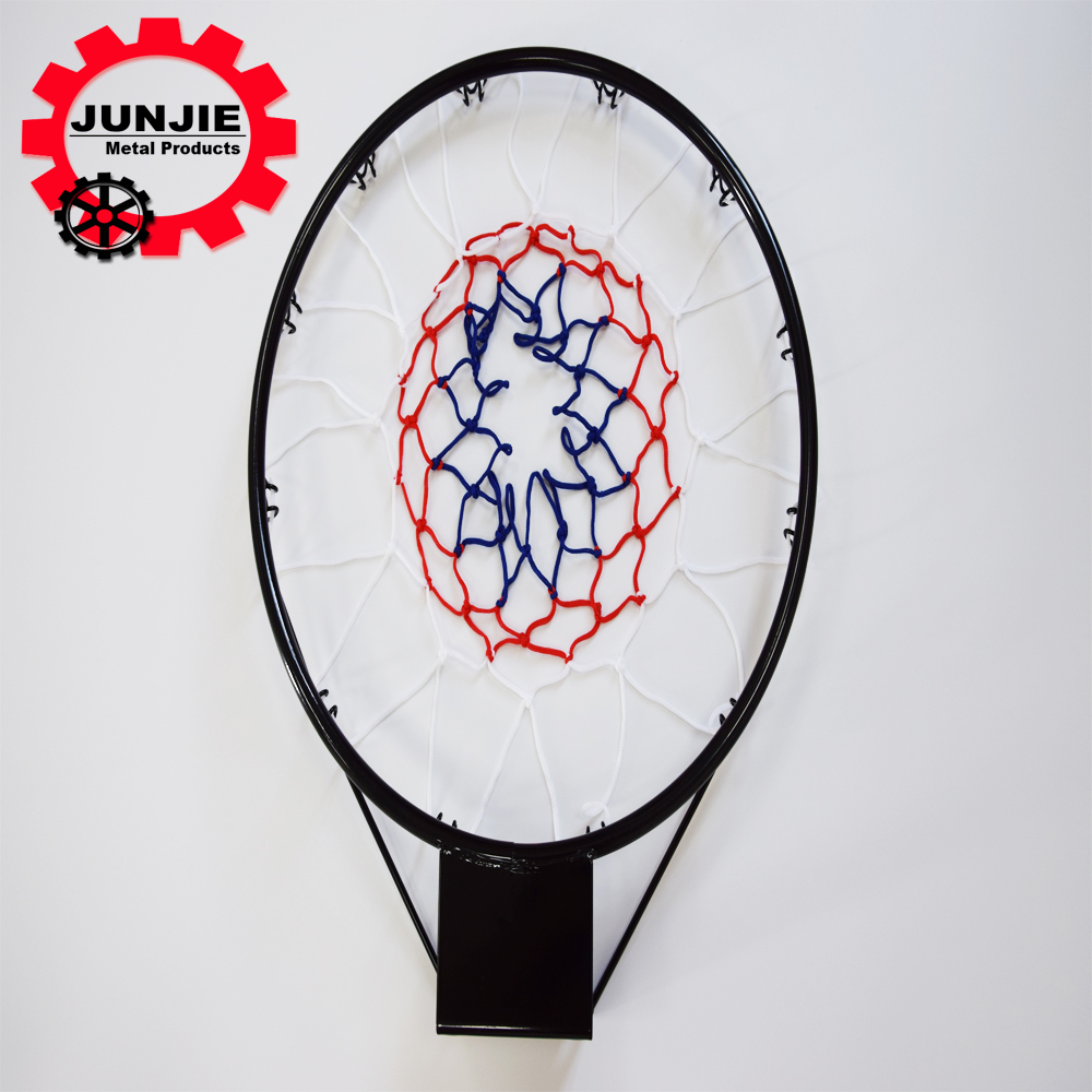 China wholesale basketball steel ring spring with 3 color net