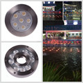 Stainless steel 316 DMX 512 12W Underwater LED Fountain Lights