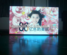 High definition p6/ph6/p6 mm pixel pitch SMD 3528 3-IN-1 video advertising full color led display screen