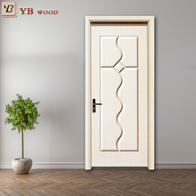 2017 new arrivals composite pvc american standard double leaf indian style wooden doors