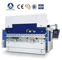 Multi axis CNC back gauge control 250T/4000 metal plate press brake to bend 6mm mild steel sheet plate