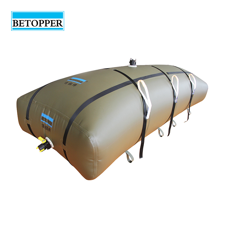Betopper new type flexi water and fuel oil storage tank bag