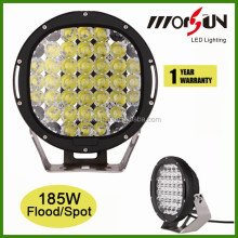 Big discount! new products 9inch 185W led work light, 4x4 car accessories 185w offroad led working light for truck jeep atv utv,