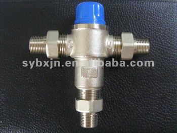 "China manufacturer 3/4"" brass Thermostatic Control Valve (selector valve)"
