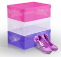 Custom drop front shoe box, giant shoe box ,clear shoe box