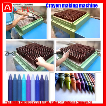 Factory Price Crayon Making Machine/Hydraulic Wax Pencil Maker