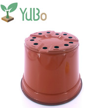Hot sale 8' inch cheap plastic garden plant pot, thermoforming flower pots for planter