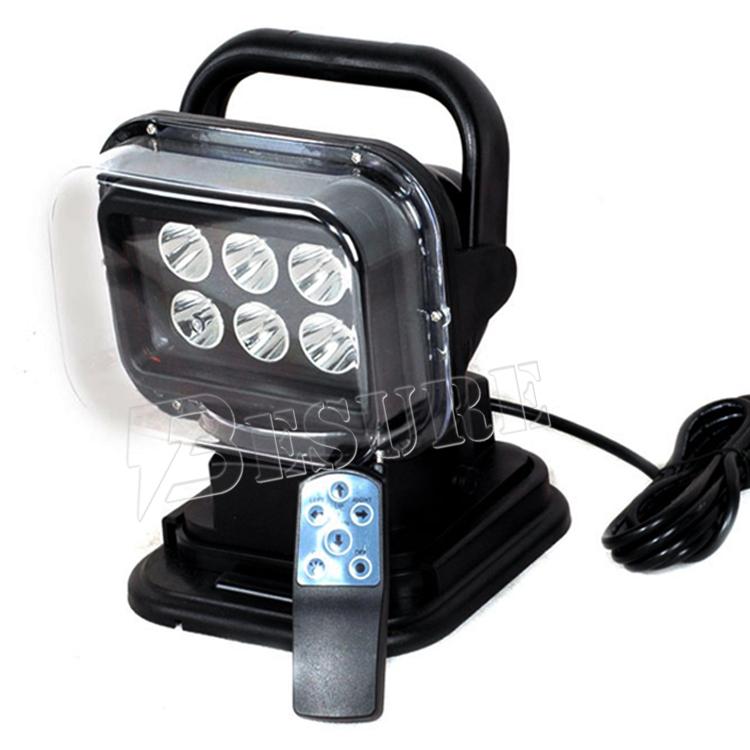 High Quality 30W Portable LED Search Lights Spot IP65 12V 24V For Boats Off Road Vehicles