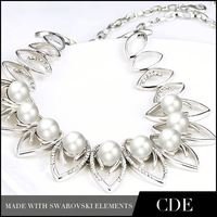 CDE Art Deco Fashionable Jewellery Freshwater Pearl Necklace N0063