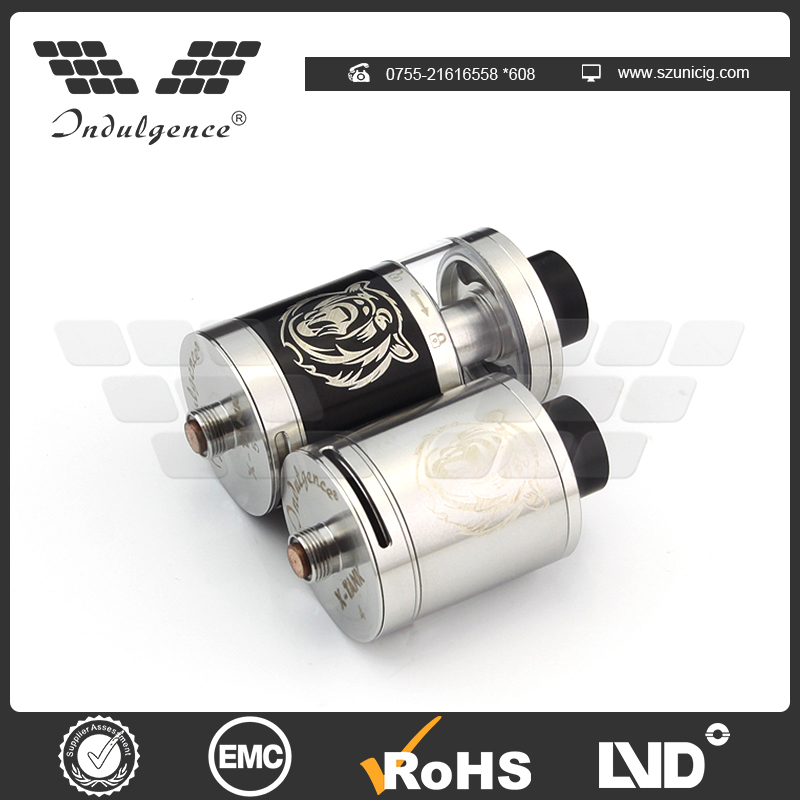 Customized dual tank atomizer with high quality