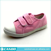 Wenzhou Sandal Buckle Pink Canvas Vamp Shoes 2018, Women's Shoes Factory