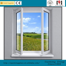 Size Customized frosted glass aluminium frame standard window sizes in india