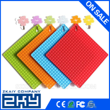 Kitchen Utensil Heat Resistant Honeycomb Silicone Hot Pot Holder/Mat/Pad/Trivet/Coaster
