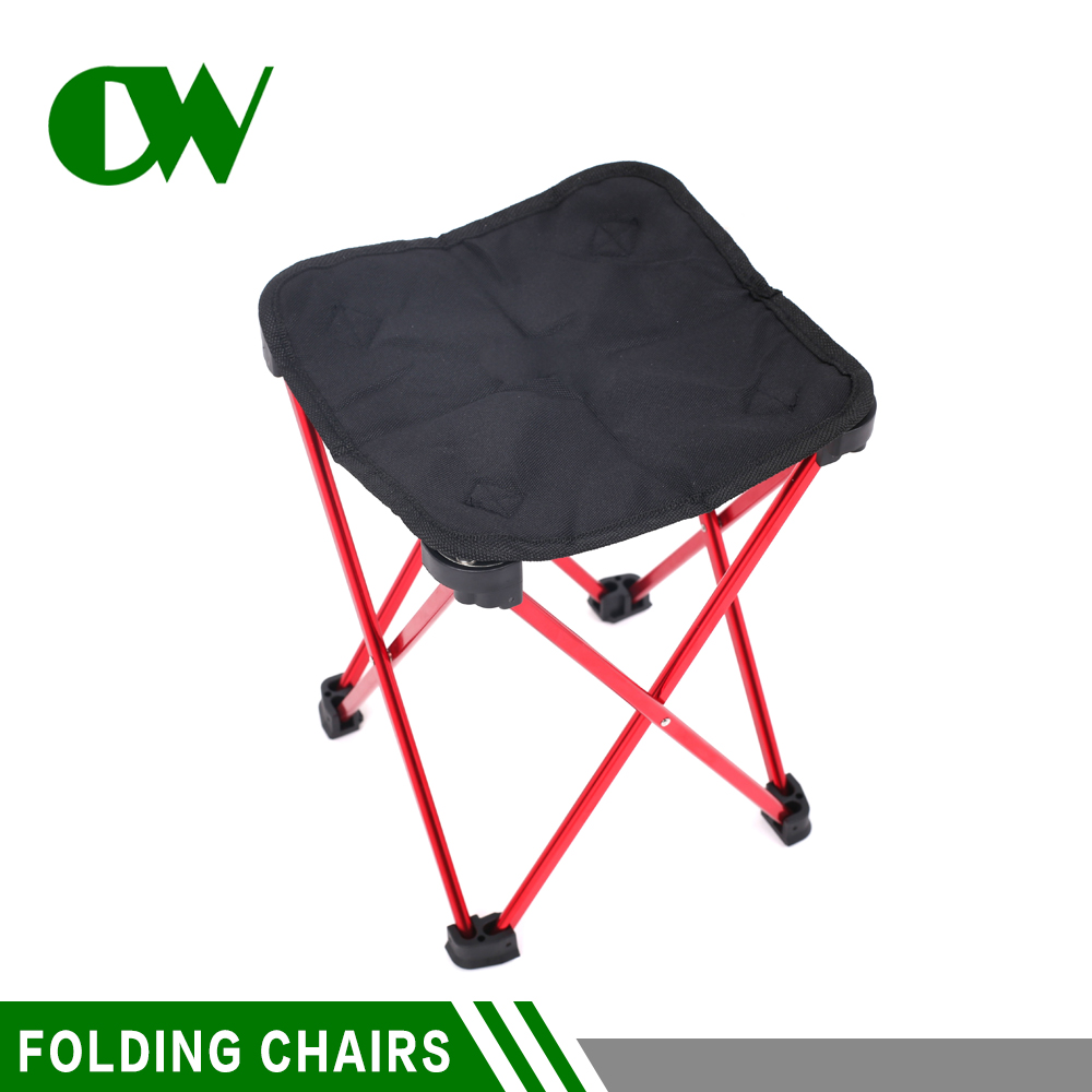 Good price aluminium outdoor beach cheap used metal folding wholesale fishing folding chair without arm
