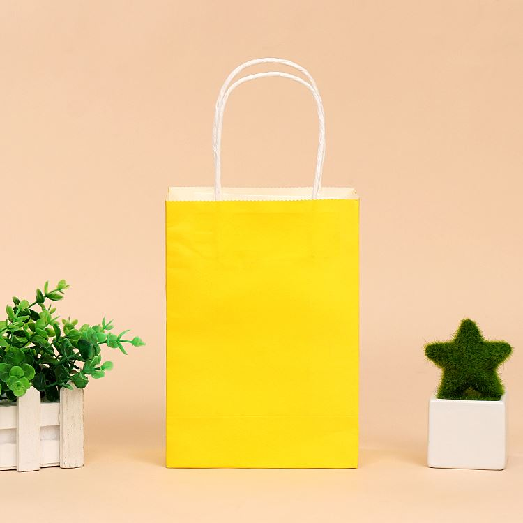 TOP sale large capacity durable eco friendly shopping paper kraft bag