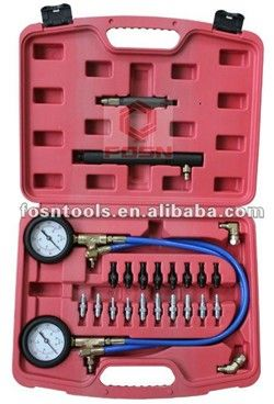 2014 Deluxe Brake Pressure Test Kit Car Diagnostic Tools yutong diesel engine part oil seal for sale Compression Tester