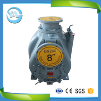 bare shaft suction waste water pump system